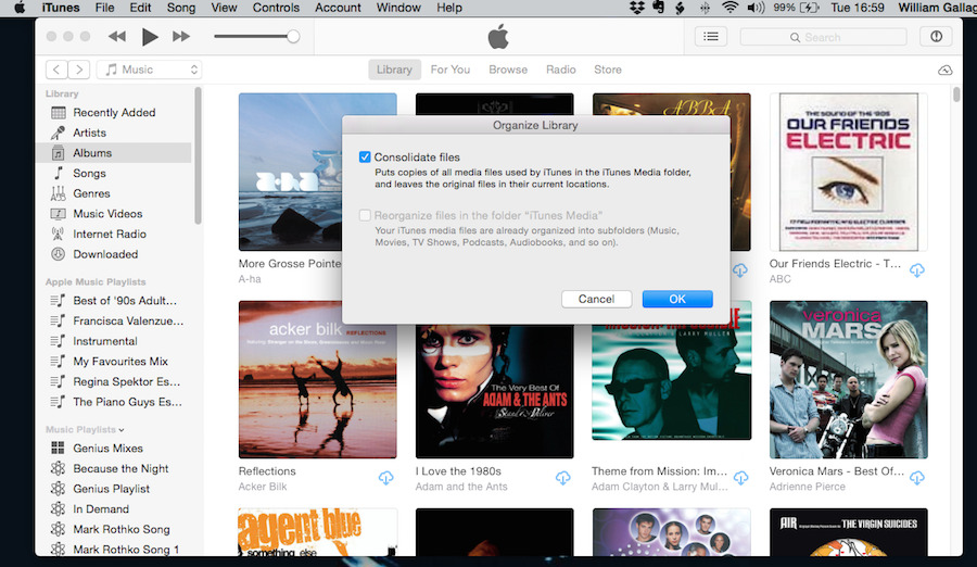 Now let iTunes consolidate everything so you know what to backup