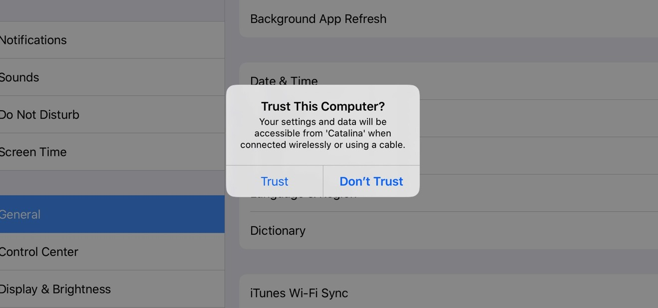 How iPhones and iPads back up & synchronize with iOS 13 and macOS