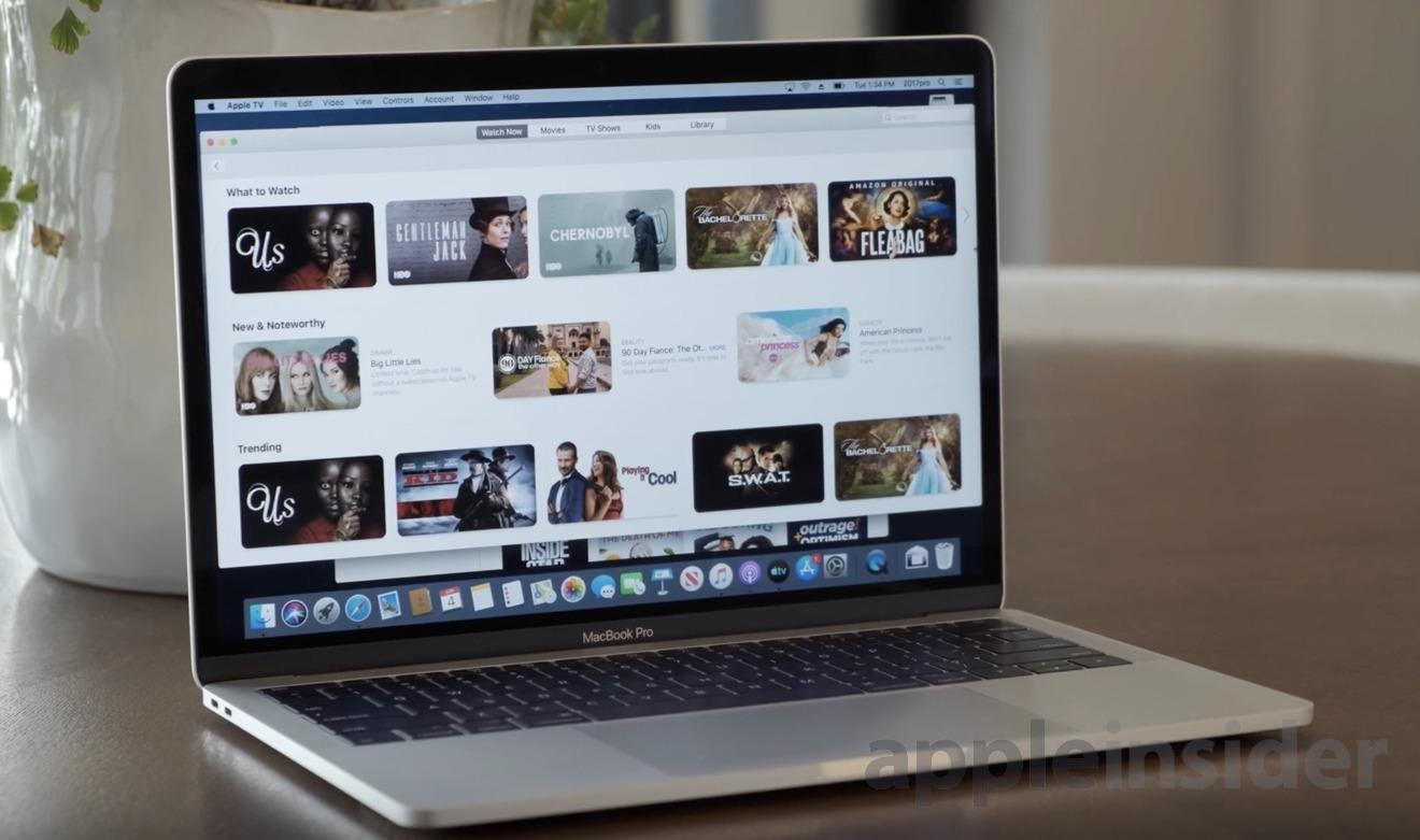 Apple TV on macOS Catalina
