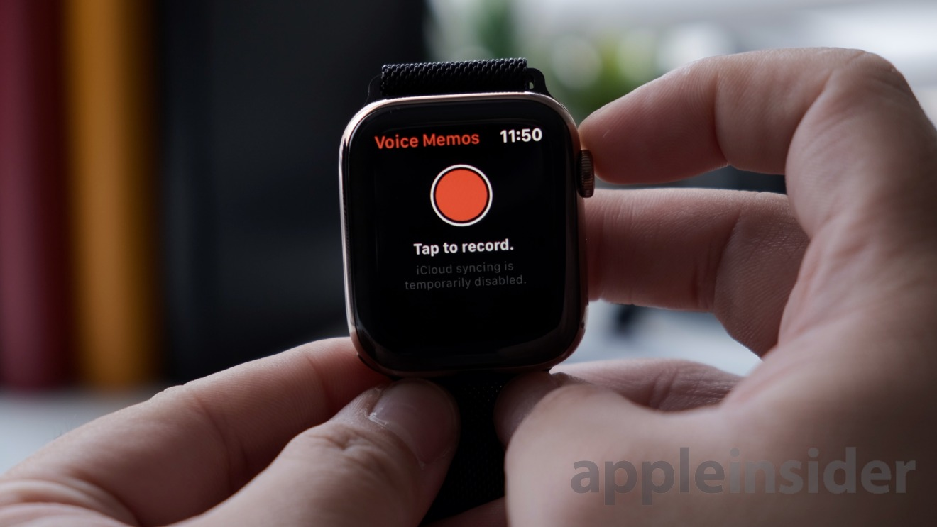 Voice Memos for Apple Watch