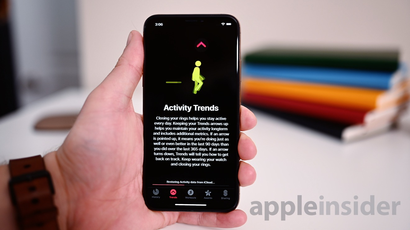 New Activity Trends for iPhone