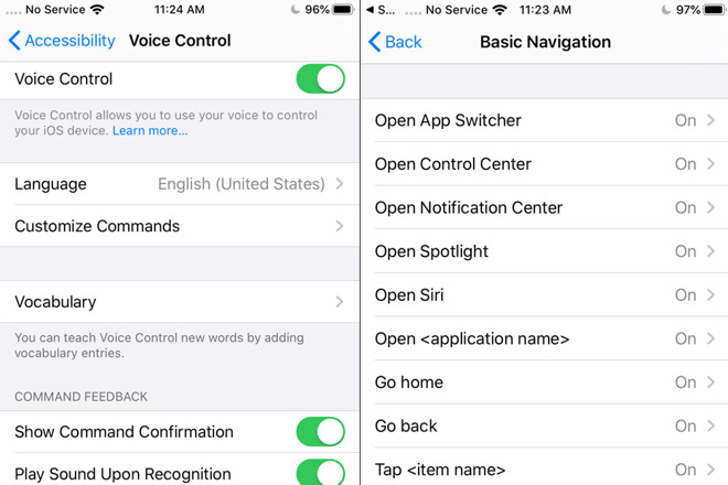 Iphone Voice Control >> Hands On With Apple S New Voice Control Accessibility Feature In Ios 13