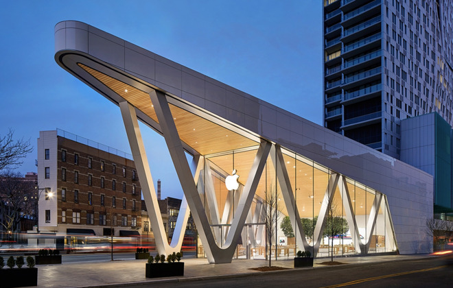 The Apple Store in Fort Greene, Brooklyn