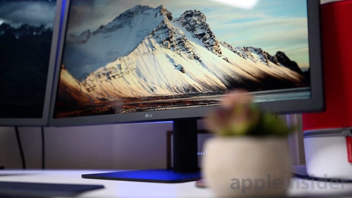 LG 23.7-inch UltraFine display