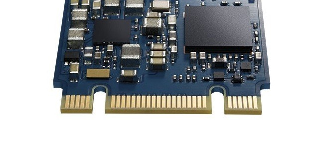 An example of a connector used for Optane storage