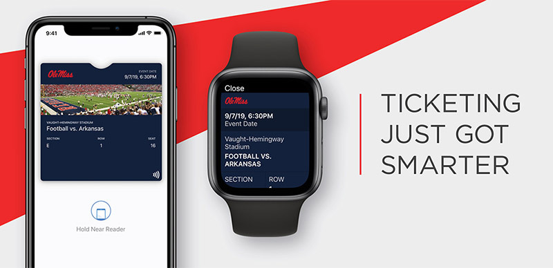 Apple Wallet to support contactless tickets at select college stadiums this fall
