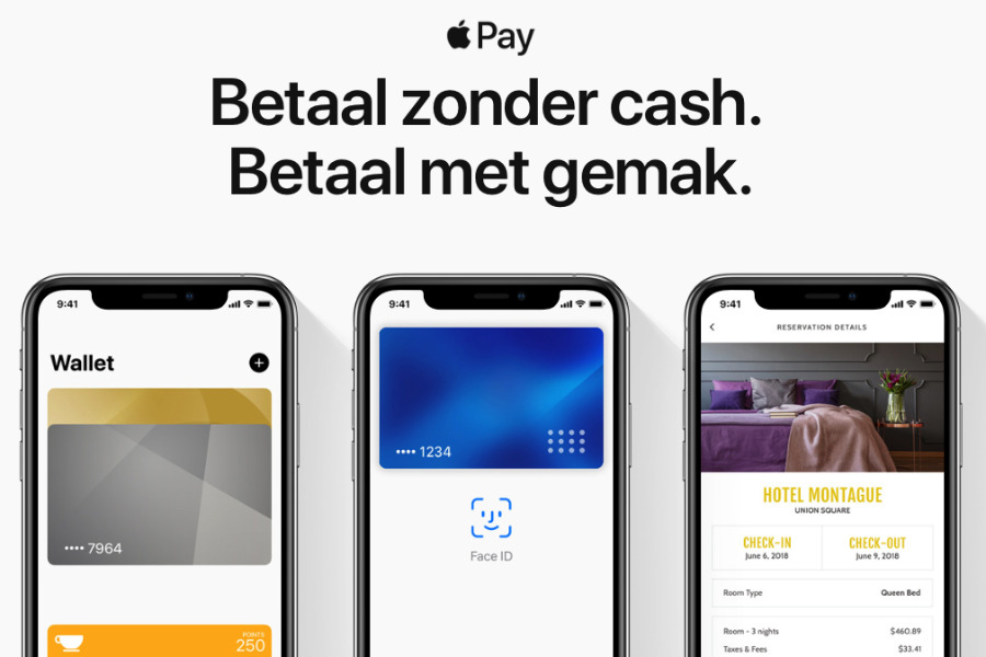 Apple Pay goes live in the Netherlands