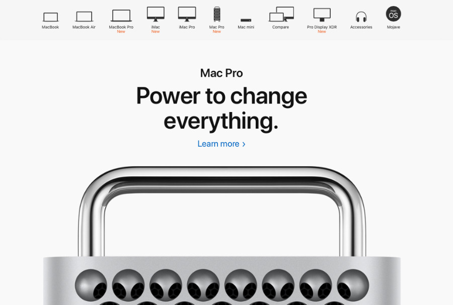 The way Apple shows its lineup, you'd think there was one for everyone.