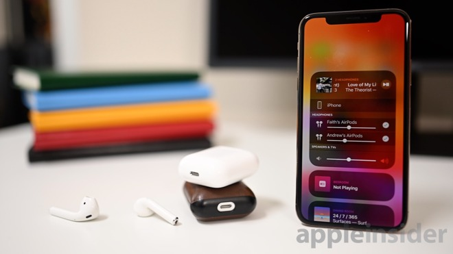 How to share your audio with two AirPods in iOS 13