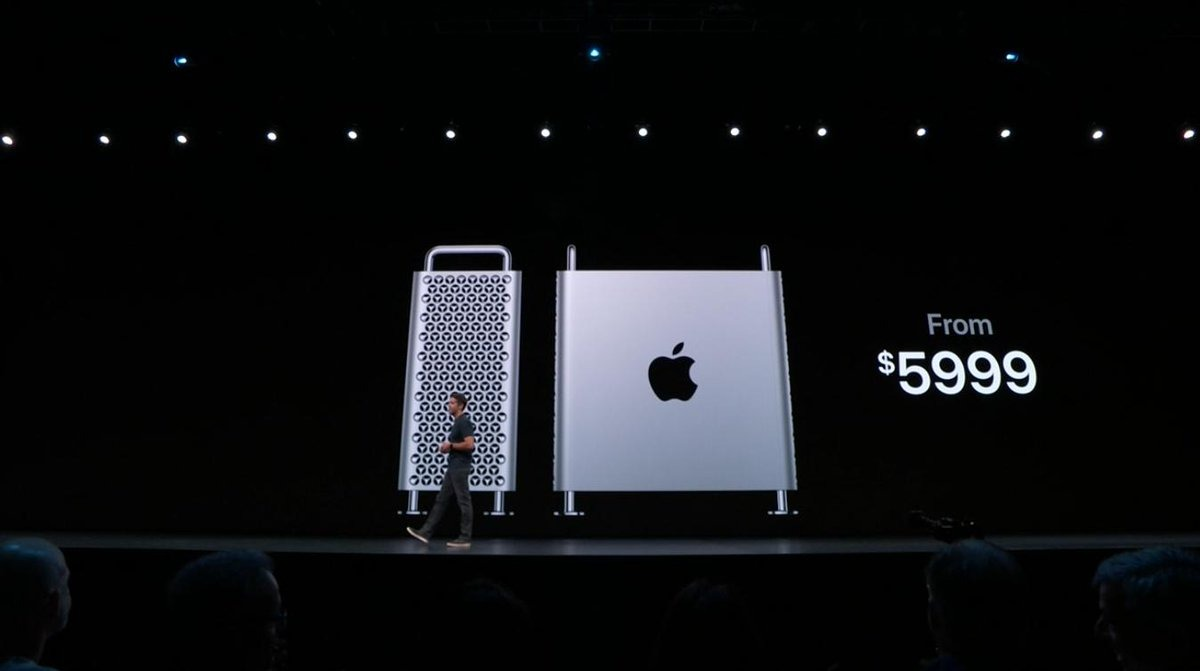 Apple unveils the new Mac Pro —  and its price