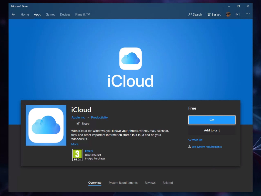 photo of iCloud for Windows app with OneDrive Files On-Demand now in Microsoft Store image