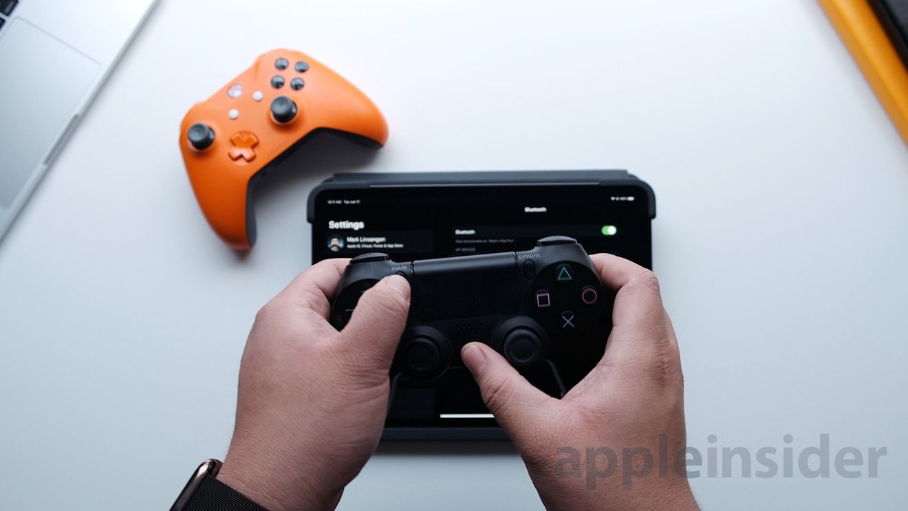 How To Connect Your Ps4 And Xbox One Controller To An Ipad Or