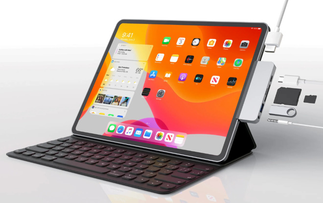2018 iPad Pro with Hyper hub