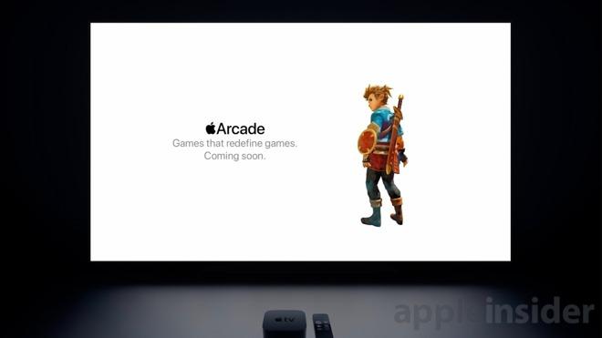 Apple Arcade in tvOS 13