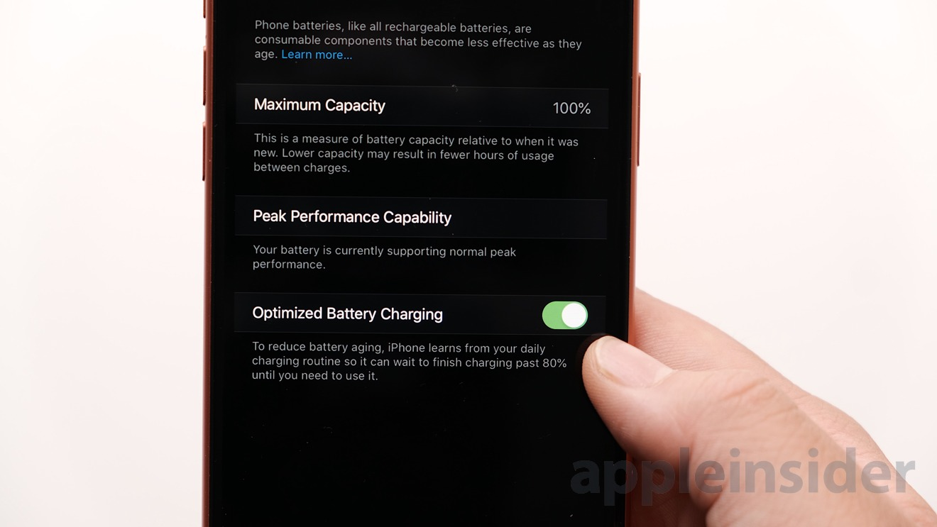 Optimize Battery Charging in iOS 13