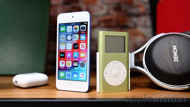 Apple's iPod touch and iPod mini