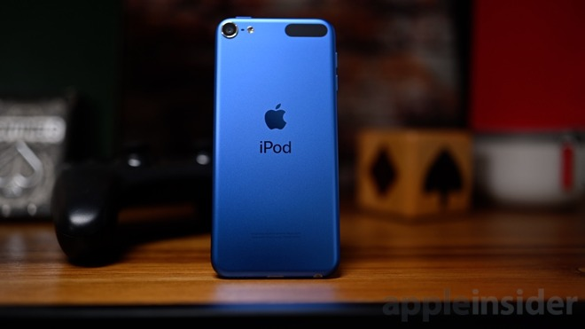 Blue 2019 iPod touch