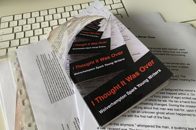 From handwriting to typing to a finished paperback book