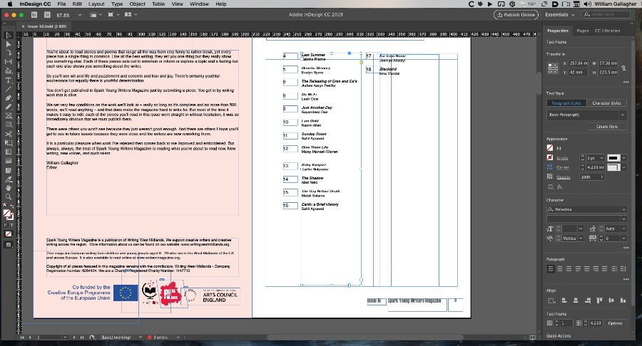 Adobe InDesign does give you extraordinary control over ever detail of every page