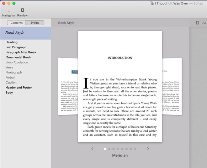 Vellum has just eight templates -- but they're great and we've only ever used the first one
