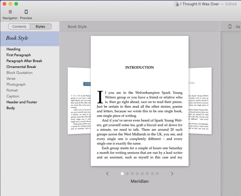 Vellum has just eight templates —  but they're great and we've only ever used the first one