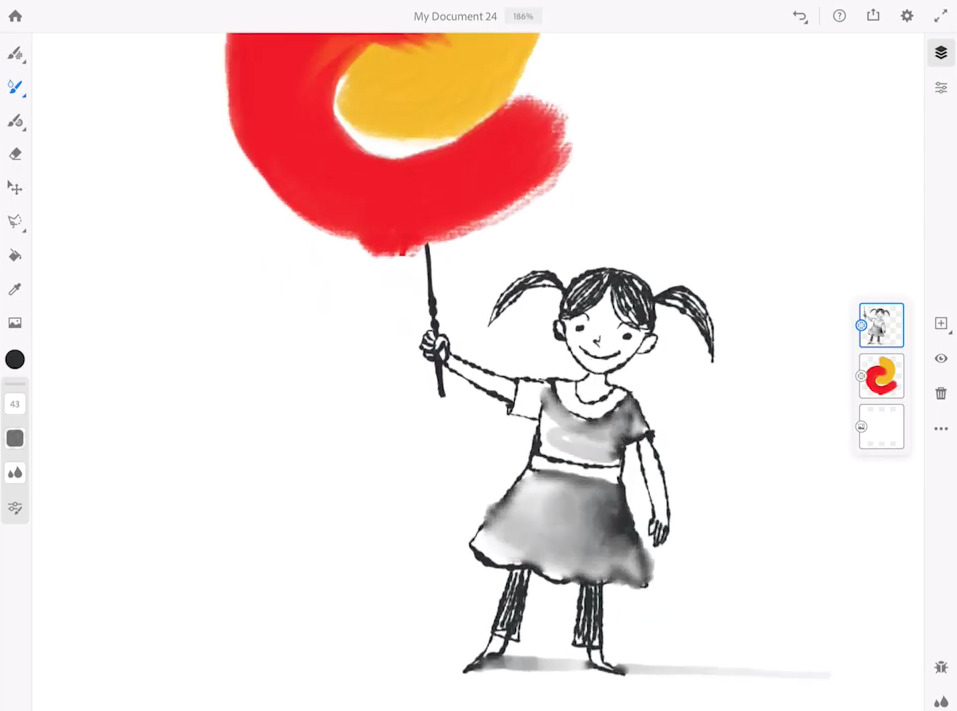 Adobe Fresco Painting App For Ipad Boasts Accurate Ai Powered Brushes Appleinsider