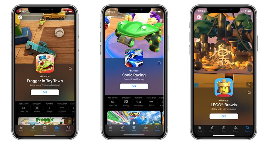 Apple Arcade features big name studios