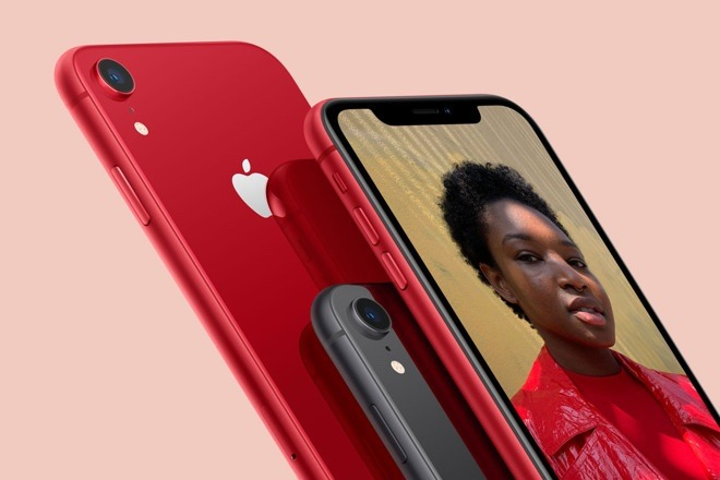 The iPhone XR has an LCD screen, but Apple has moved to OLED for the higher end of the range