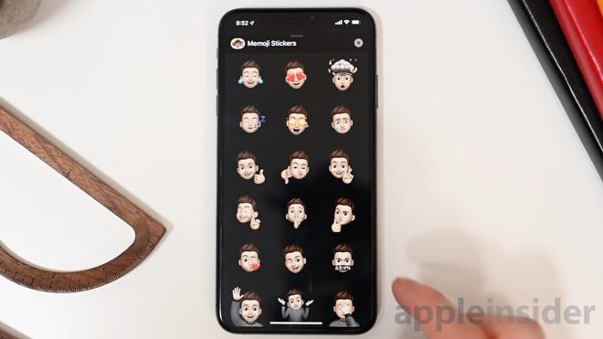 Four new Memoji Stickers in iOS 13 beta 2