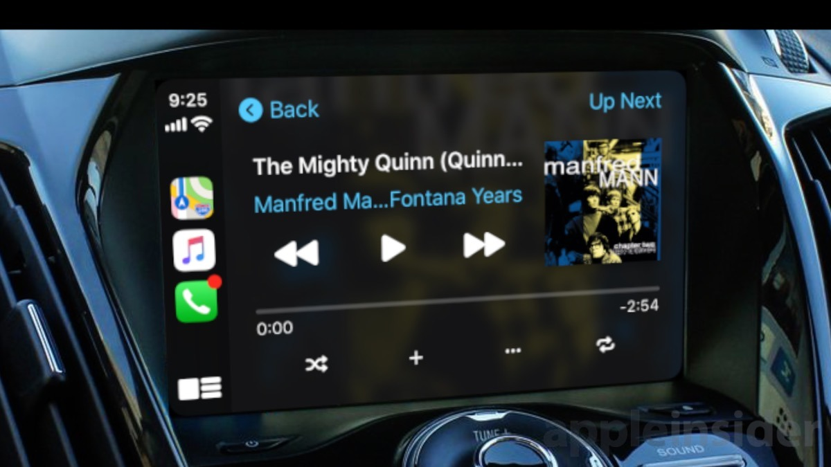 CarPlay's new Now Playing screen