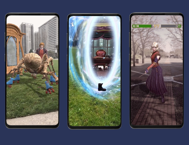 Early screenshots of 'Harry Potter: Wizards Unite'