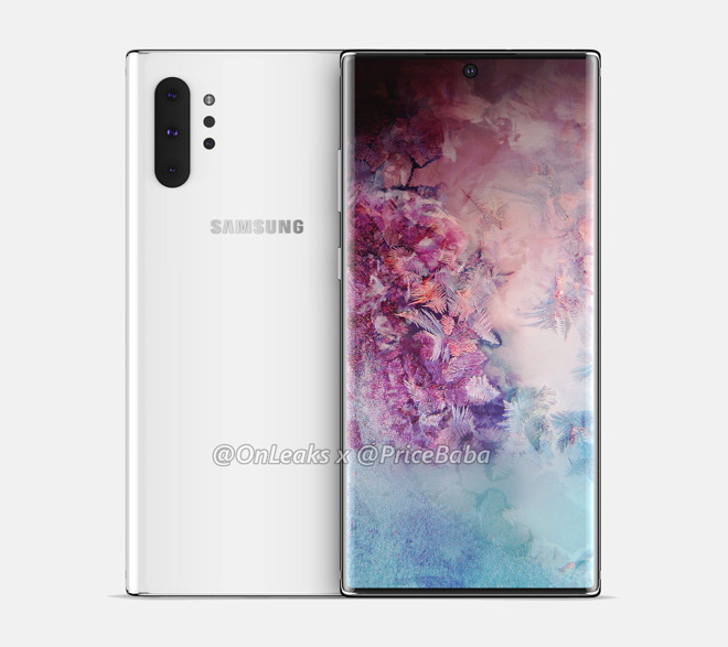 A render of the Note 10