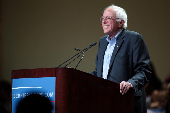 Senator Bernie Sanders [via Wikipedia]