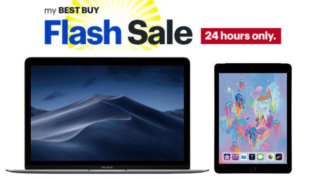 newest 92934 a8811 Flash deals: $799 MacBooks, lowest prices ever on iPads at Best Buy