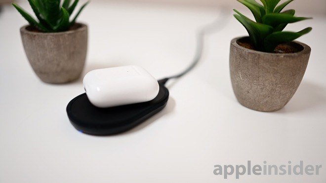 Power Disk charging AirPods