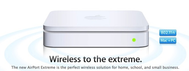 802.11n AirPort Extreme base station