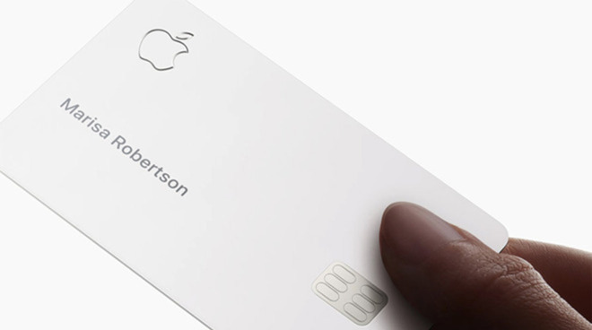 Apple Card spotted in wild