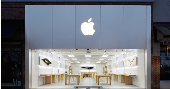 The Apple Store in Evesham Township, NJ