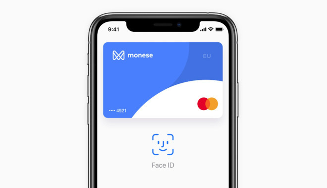 Apple Pay Monese