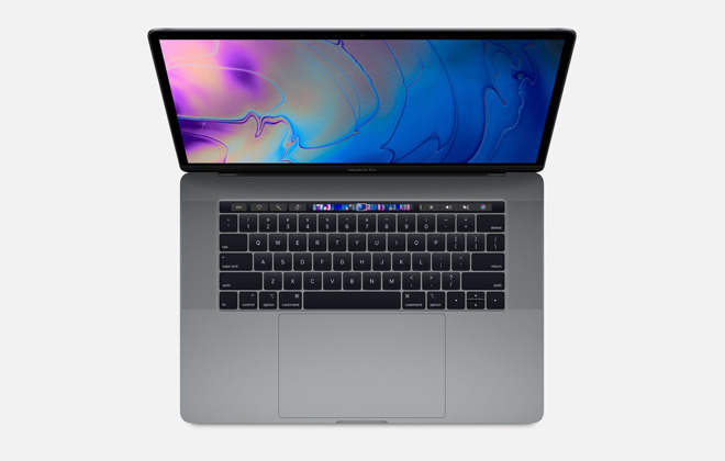 The 15-inch MacBook Pro