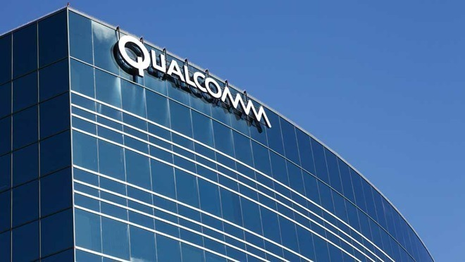 Qualcomm office building sign