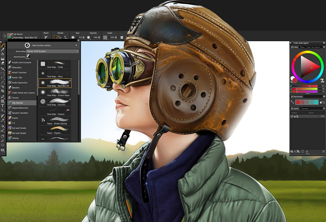 Corel intros Painter 2020 for Mac with speed & interface upgrades