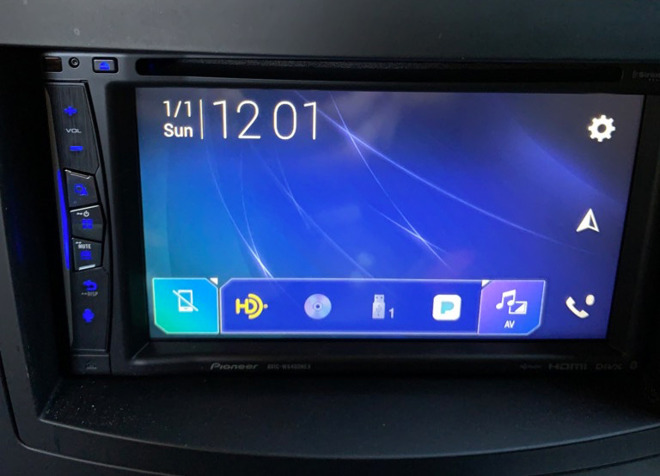 pioneer avic-w6400nex interface