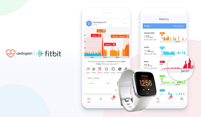 Heart health app Cardiogram now supports Fitbit devices