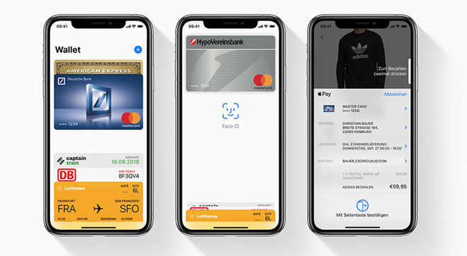 Apple Pay expands to major German bank branch