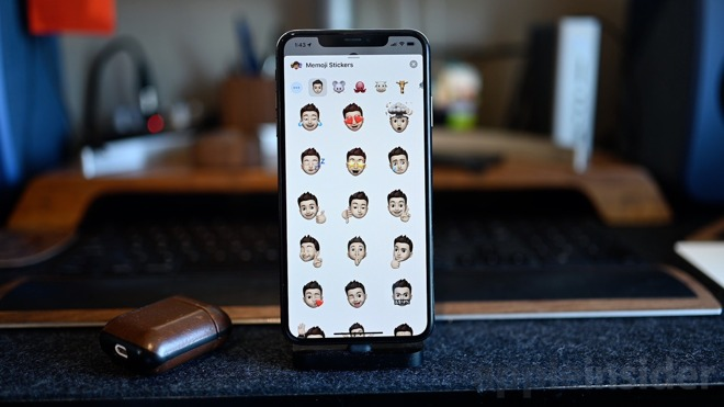 iOS 13 Messages creates stickers based on your Memoji character