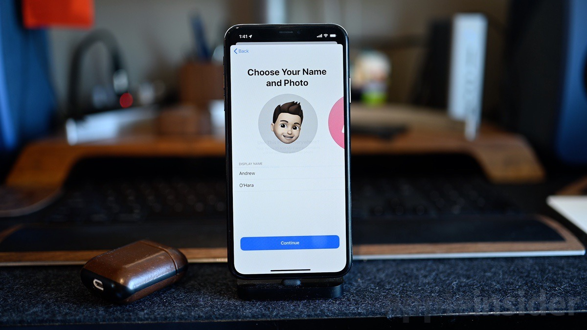 Create your own profile with iOS 13