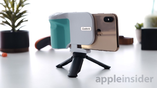 Adonit PhotoGrip Qi with Tripod