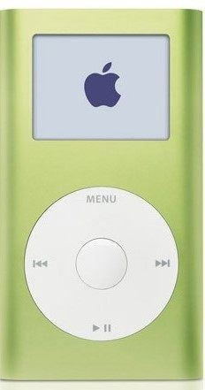 iPod mini in green