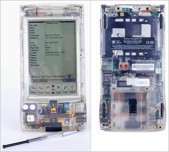 Prototype Newton MessagePad 110 designed by Jony Ive